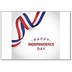 Happy France Independent Day classic fridge magnet