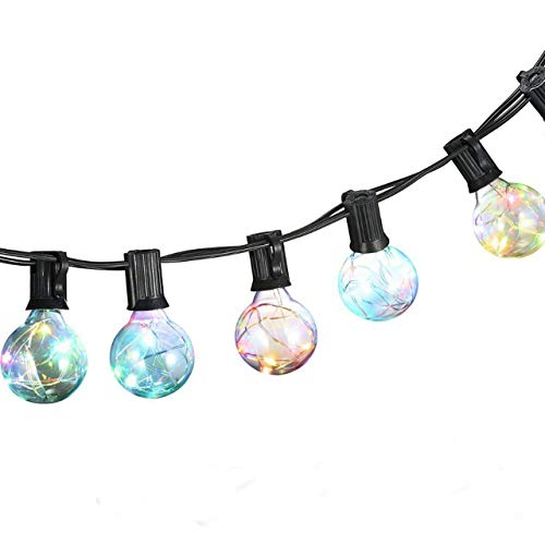 Led Color Changing Globe String Lights in US - 1