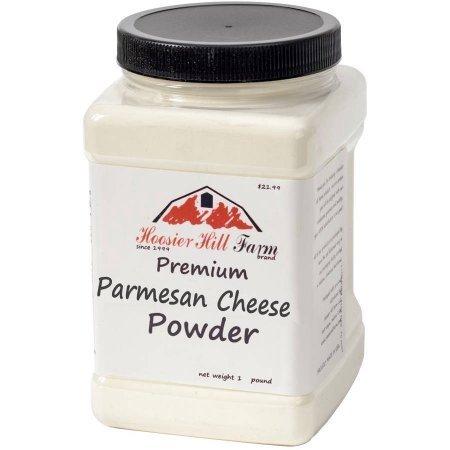 Hoosier Hill Farm (Premium Parmesan Cheese Powder, 1 lb, Pack of 4) by