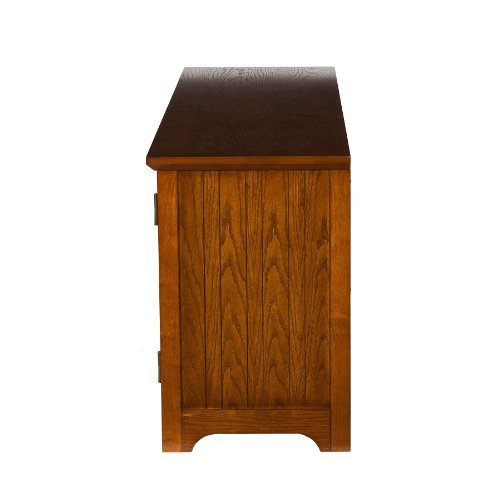 50'' Mission Style TV Media Stand Console , Walnut Finish by FurnitureMaxx (Image #7)