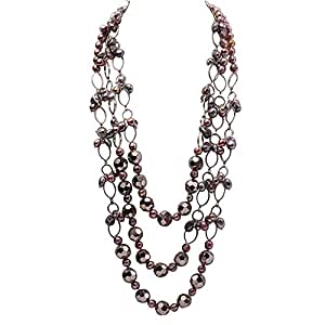 617d7baa20ca JYX - Collar de perlas barrocas (88-9 mm)