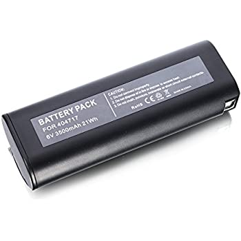 Masione 6v 3 5ah Replacement Battery For Paslode Imct Fuel