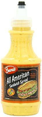 Beano's All American Sandwich Spread, 8 Ounce (Pack of 12)