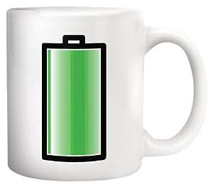 Kikkerland Battery Morph Coffee Mug