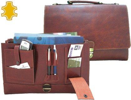 Portefeuille portefeuille Artesania de cuir avec clip Dimensions: 37x 26,2x 7,6cm.