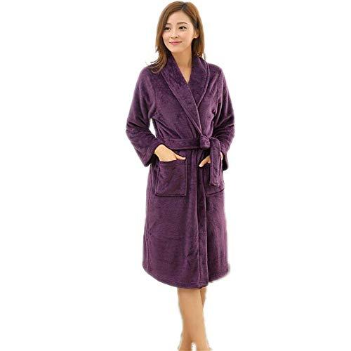 Mujer Mode Pijama Camisón Con Para Bata Y Diseño Baño Rayas Marca De B Algodón qwP77H8t4