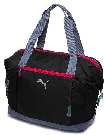 56df714c51aa8a Amazon.com: Puma Womens Fitness Workout Bag H35 X D20 X W40 (36l) Black  Grey Pink: Industrial & Scientific