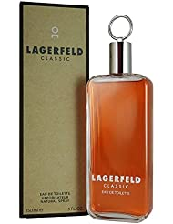 Karl Lagerfeld Classic for Men Eau de Toilette Spray, 5 Ounce
