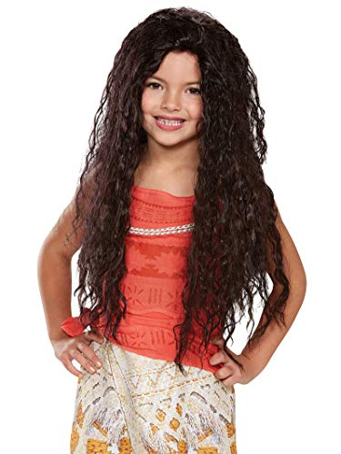 Disney Moana Deluxe Girls' Wig
