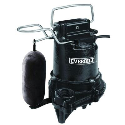 0.3 HP Cast Iron Sump Pump by Everbilt