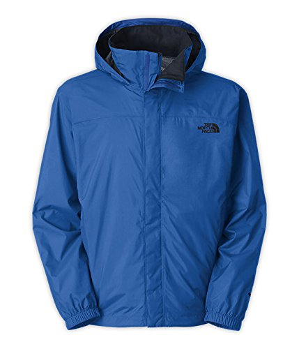 The North Face Resolve Jacket Mens Monster Blue/Outer Space Blue L