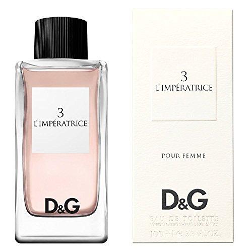 D G 3 L IMPERATRICE by Dolce Gabbana EDT SPRAY 3.3 OZ