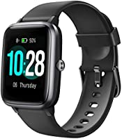 Letsfit Smart Watch, Fitness Tracker with Heart Rate Monitor, Activity Tracker with 1.3 Inch Touch Screen, IP68...
