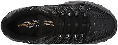 Skechers Sport Men's Afterburn Memory-Foam Lace-Up Sneaker