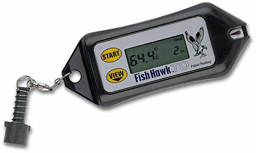 FISH HAWK ELECTRONICS TD DIGITAL AT-DEPTH WATER TEMPERATURE GAUGE by FISH HAWK