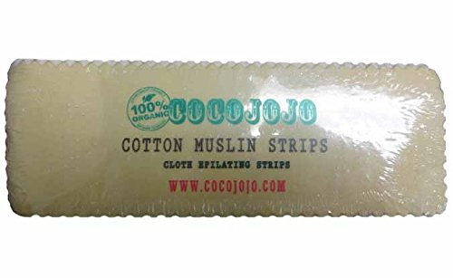 Fabric Strips - Organic Reusable Cotton Strips Ct 100 by cocojojo