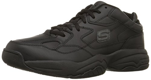 Skechers for Work Men's Keystone Sneaker,Black,10 M US