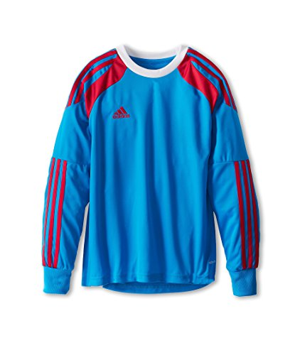 adidas New Boys' Onore 14 Youth Goalkeeper Jersey Solar Blue/Vivid Berry/White Kids X-Small