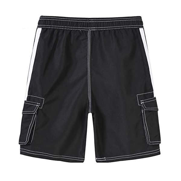 Akula Mens Shorts Swim Trunks Cargo Pockets
