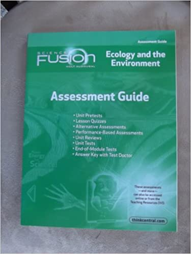 ScienceFusion Assessment Guide Module D Grades
