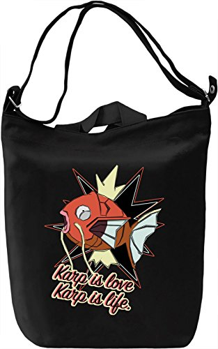 Karp Is Love Karp Is Life Borsa Giornaliera Canvas Canvas Day Bag| 100% Premium Cotton Canvas| DTG Printing|