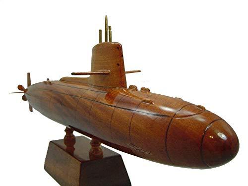 Skipjack Wood - Skipjack Class Submarine Wood Desktop Submarine Model