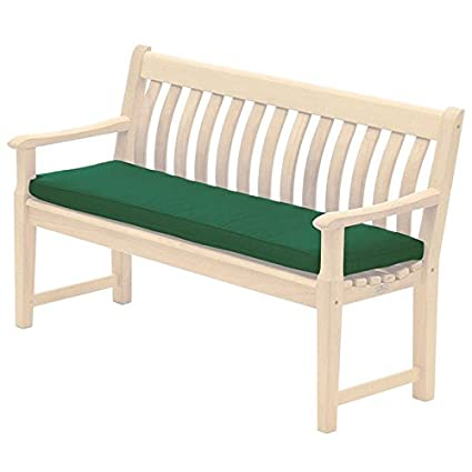 Prime Alexander Rose 4Ft Polyester Bench Cushion Green Pabps2019 Chair Design Images Pabps2019Com