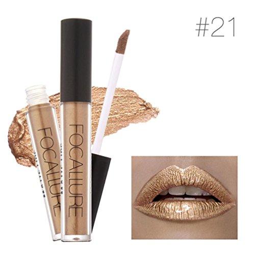 Women Fashion Metallic Lipstick Affordable