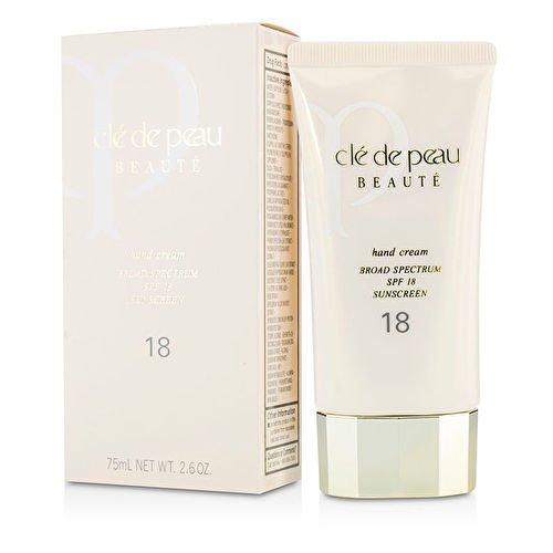 (Cle De Peau Hand Cream Broad Spectrum SPF 18 Sunscreen 75ml/2.6oz by Cle De Peau)