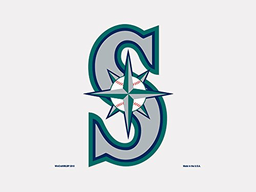 "Seattle Mariners Official MLB 4""x4"" Die Cut Car Decal by Win"