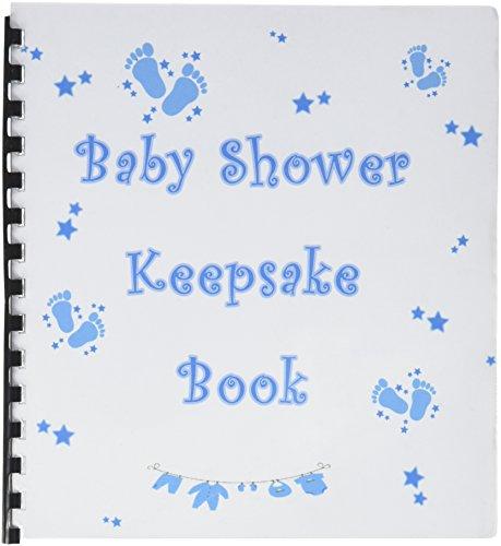 Keepsake Memory Book Baby Shower Boy, Blue