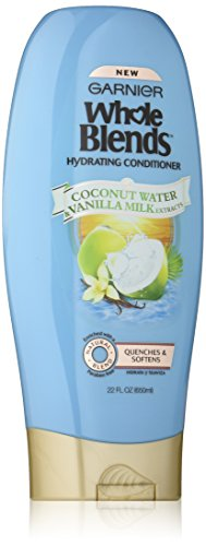 Garnier Whole Blends Conditioner with Coconut Water & Vanilla Milk Extracts, 22 fl. oz. (Garnier Naturals)