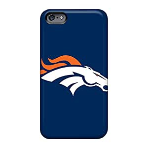 Apple Iphone 6 Hjr66byFd Allow Personal Design Trendy Denver Broncos 5 Image Bumper Cell-phone Hard Covers -RandileeStewart