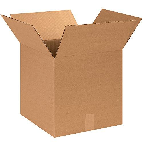 BOX USA B141414500PK Corrugated Boxes, 14''L x 14''W x 14''H, Kraft (Pack of 500) by BOX USA