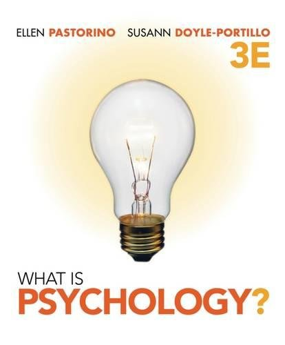 What is Psychology? (Available Titles Aplia)