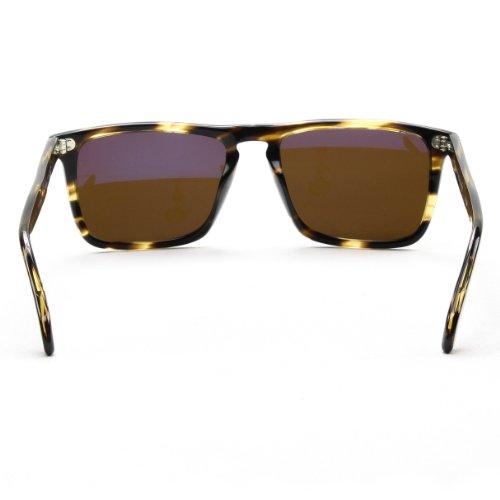 0eefb48ea94 Oliver Peoples 5189 1003N9 Cocobolo Bernardo Wayfarer Sunglasses Polarised  Lens