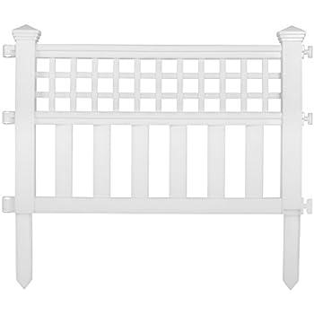 Amazon Com Suncast Gvf24 Grand View Fence White