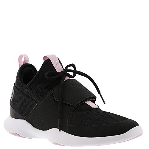 PUMA Women's Dare Trainer Sneaker, Black Black-Winsome Orchid, 7.5 M US by PUMA