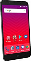 Virgin Mobile - ZTE Tempo X 4G LTE with 8GB Memory Prepaid Cell Phone - Black