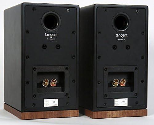 Tangent Spectrum X4 Lautsprecher 80 W 70 2-Wege 2.0 Kan/äle 80 W Schwarz 20.000 Hz