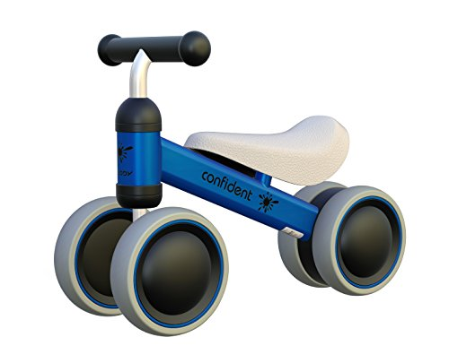Ancaixin Baby Balance Bikes Bicycle Children Walker 10 Month 24 Months Toys for 1 Year Old No Pedal Infant 4 Wheels Toddler First Birthday New Year Gift