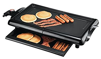 Brentwood TS-840 Electric Griddle, Black