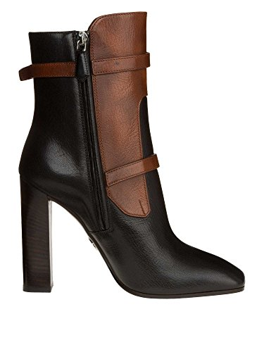 marrone Marrone Stivaletti Women Tronchetto Prada Donna Nero Nero Boots 6052n U0Zqwnqz