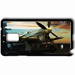 Personalized Samsung Note 4 Cell phone Case/Cover Skin Aircraft War Thunder Black by mcsharks