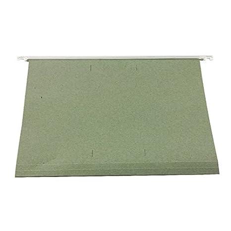 Q-Connect KF21004, Carpetas Colgantes con Pestañas, 230 x 300 mm, 50 Unidades: Amazon.es: Oficina y papelería