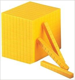 Plastic Base Ten Block by Ideal (1999-01-26)