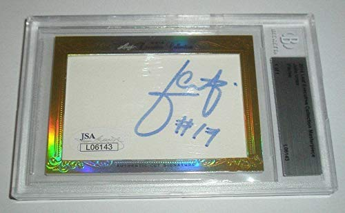 Julio Urias 2014 Leaf Executive Collection Autographed Signed 1/1 Los Angeles Dodgers - Authentic Memorabilia