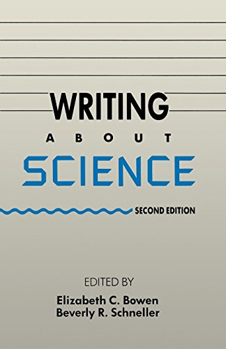 Writing About Science by Oxford University Press