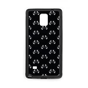 Samsung Galaxy Note 4 Cell Phone Case Black Wolf Eyes LSO7800093