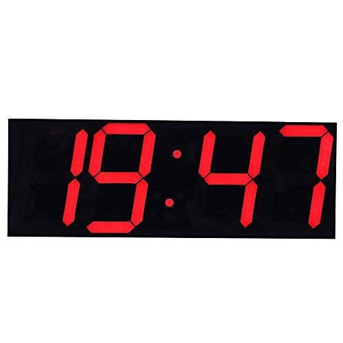 Led digital clock large display